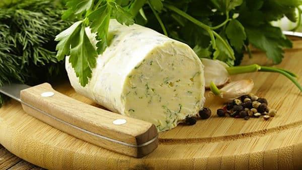 receta de mantequilla aromática