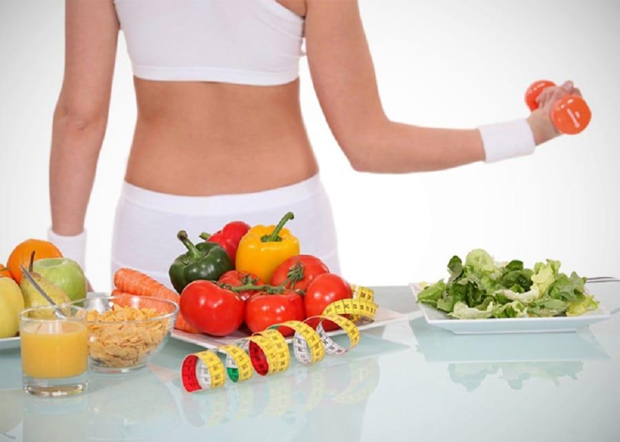 la dieta y ejercicio