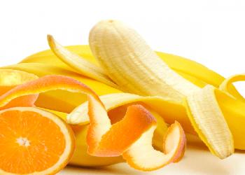 Descubre los beneficios de la cascara de cambur y naranja