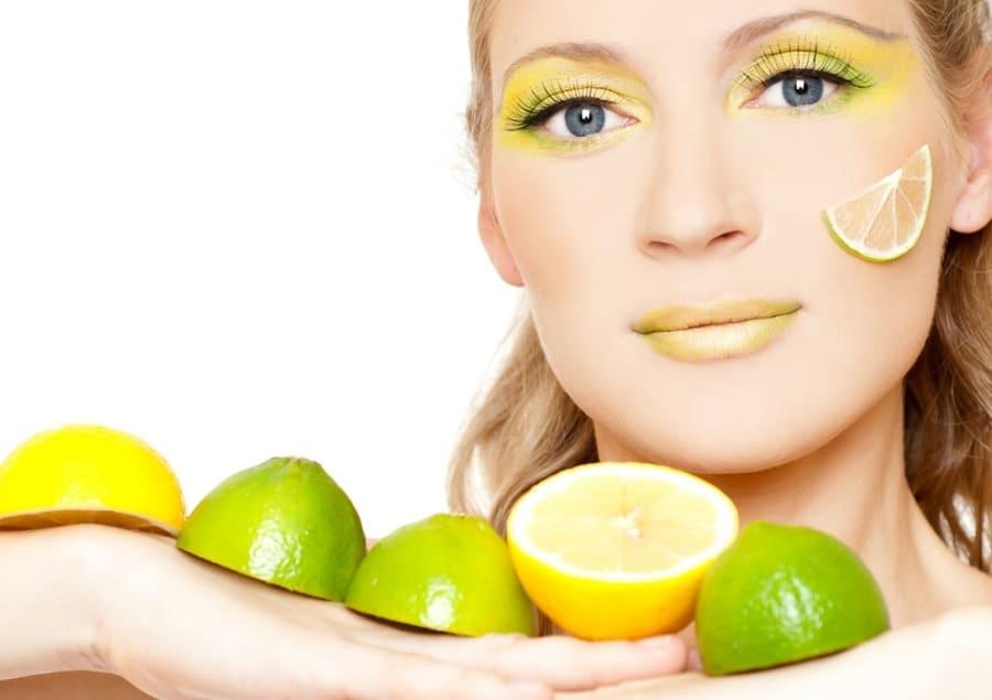las marcas del acné