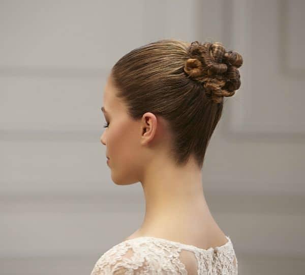 10 peinados para boda cabello largo chicastrendy On monos con rizos