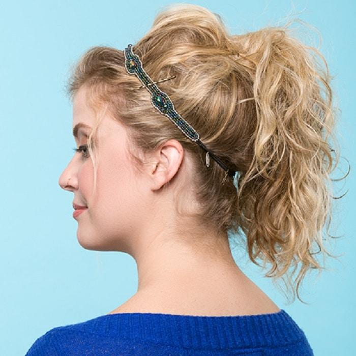 peinados sencillos recogidos