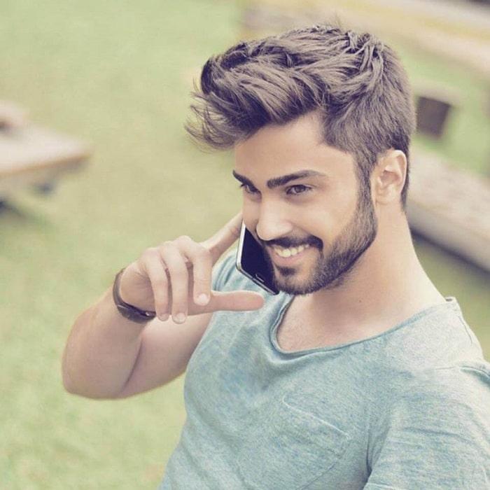 cortes de pelo hombre corto y simple