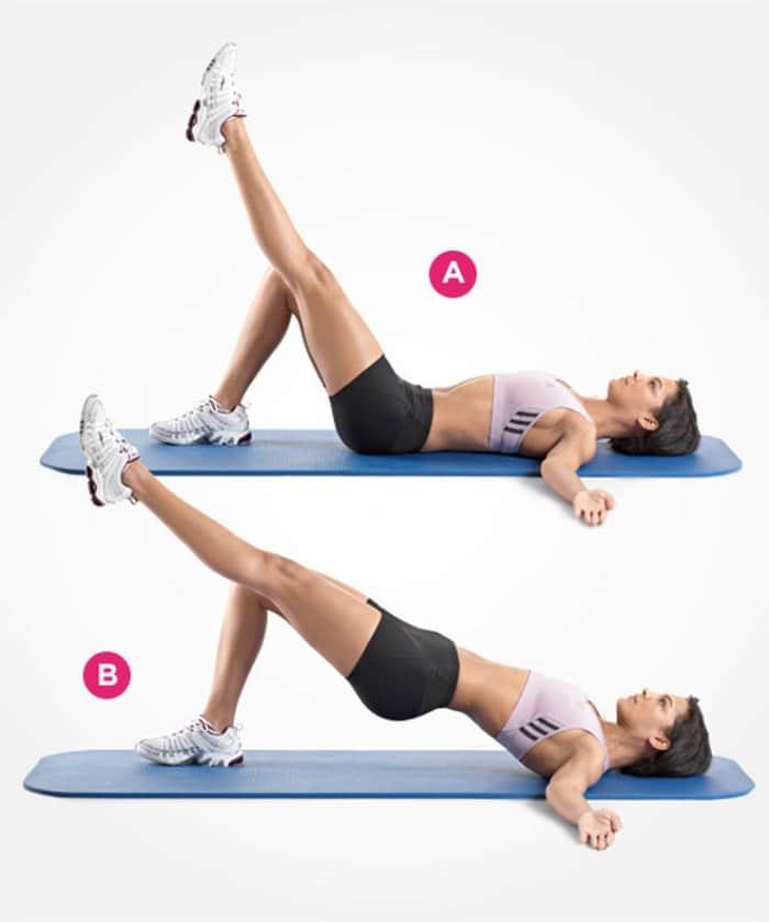 ejercicios para sacar glúteos y piernas