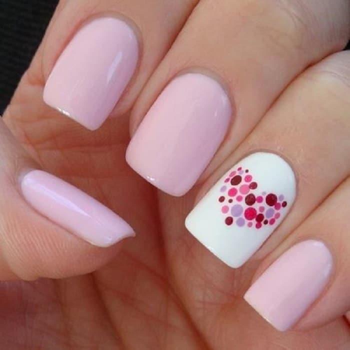 manicure para novias romanticas