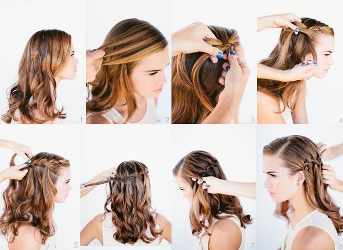 peinados con trenzas de moda