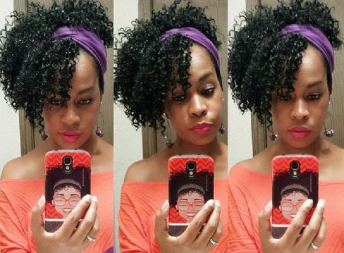 7 Estilos modernos y vanguardistas de pelo rizado con flequillo
