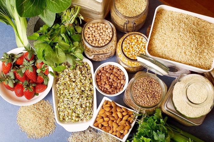 alimentos con complejo B, los granos