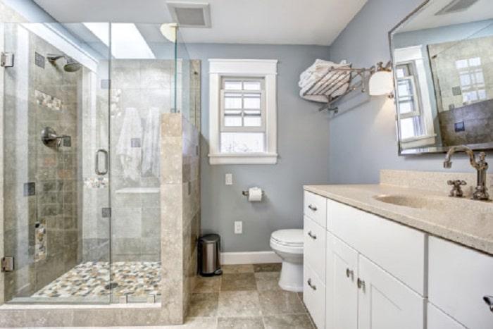 baños super pequeños clasicos