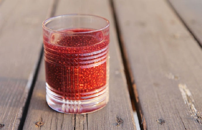 bebidas isotónicas de chia