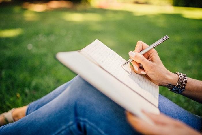 como atraer buenas energias escribiendo