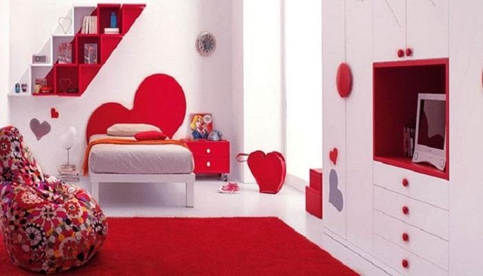 decoración de cuartos juveniles con alfombra
