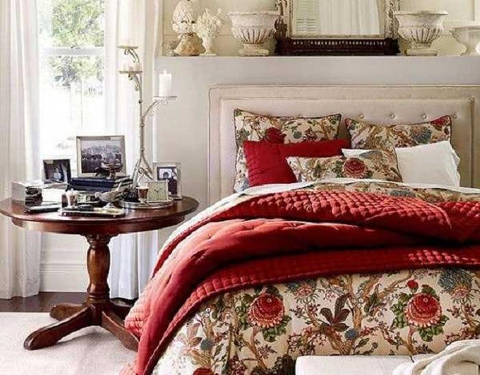 decoración para habitaciones pequeñas vintage