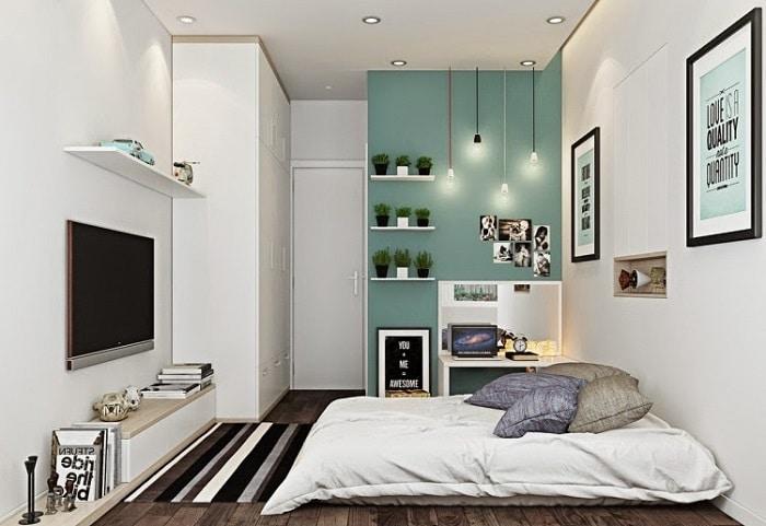 decoración para habitaciones pequeñas y modernas