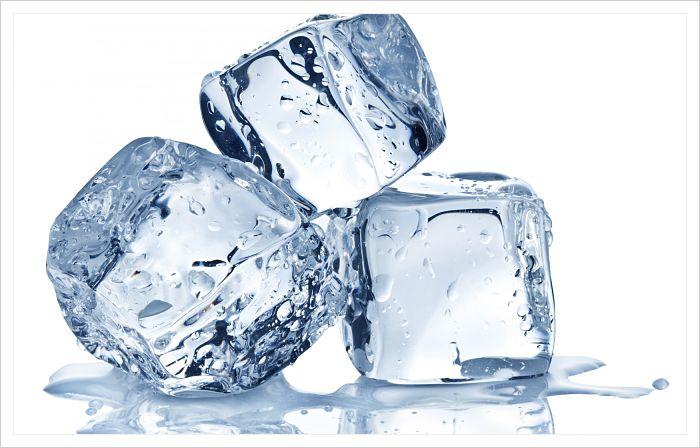 como quitar las espinillas rápidamente con hielo