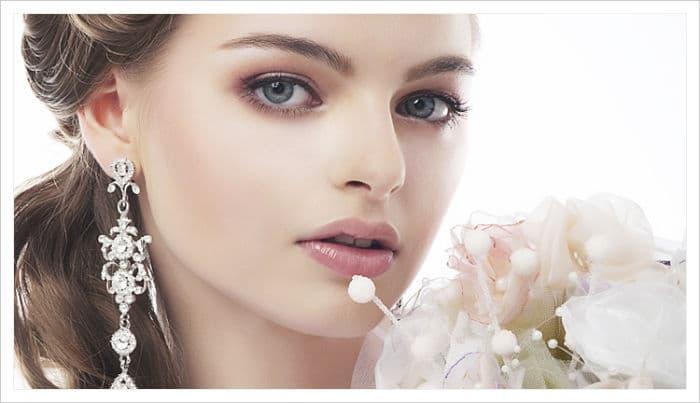 un buen maquillaje para novias de noche
