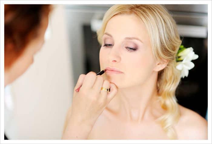 el maquillaje para novias de noche