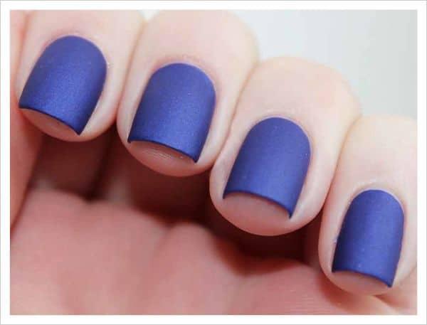 hermosas uñas colores mate