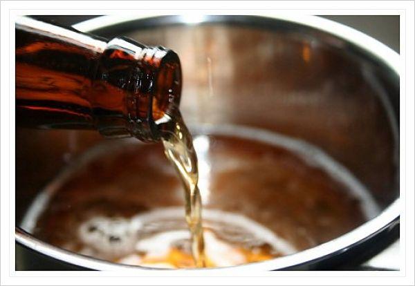 lavar el pelo con cerveza