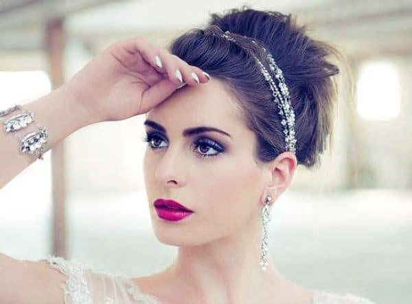 maquillaje para novias de noche