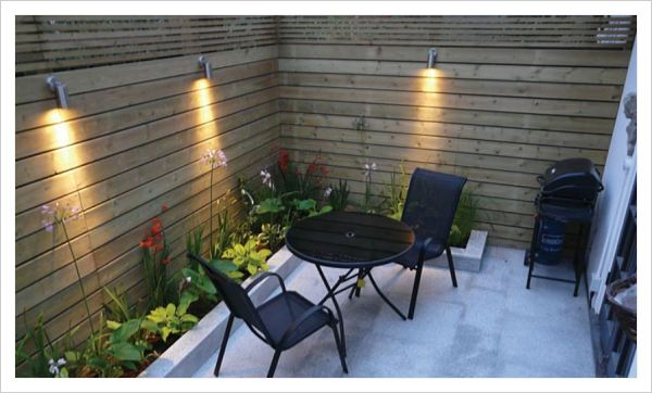 Ideas para decorar patios pequenos modern patio outdoor - Como decorar un patio exterior ...