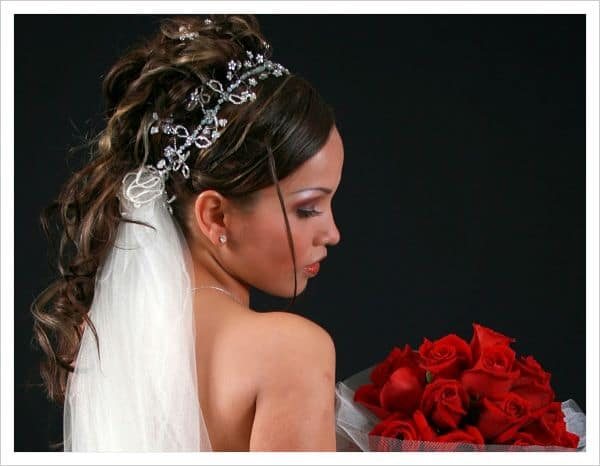 peinados para novias con velo - Peinados De Novia Con Velo
