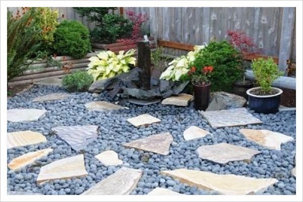 C mo decorar un patio peque o 5 maravillosas ideas for Piedras para decorar patios