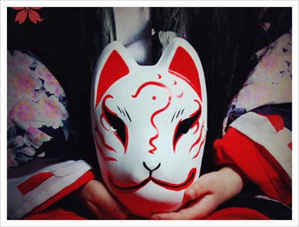 máscaras japonesas