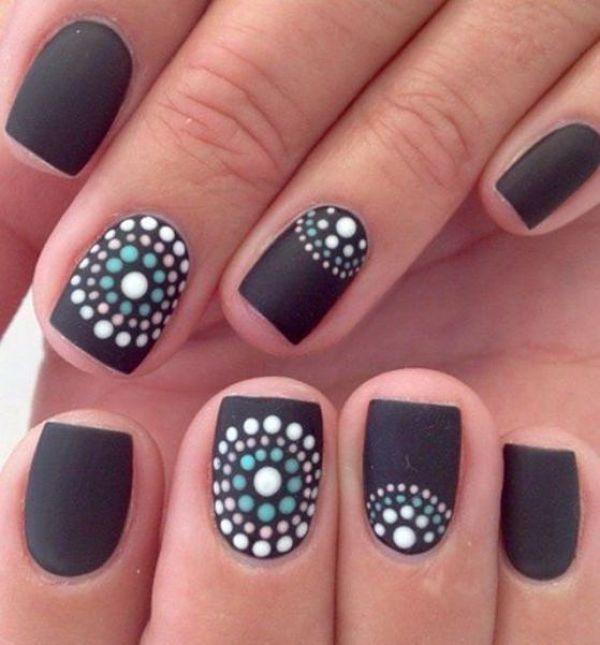 ¡10 imagenes de maquillaje de uñas cortas!
