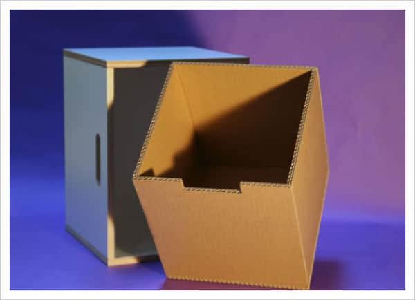 Cómo hacer una caja de cartón paso a paso