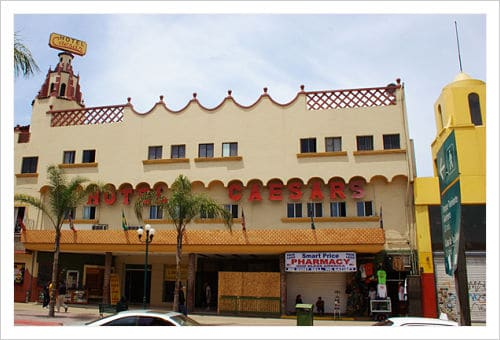 Restaurante de César en Tijuana