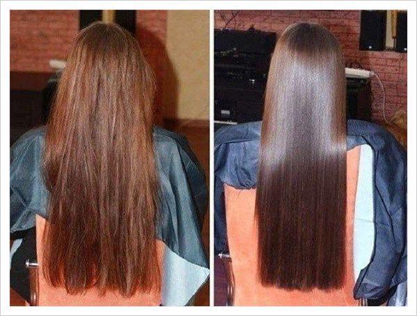 Aceite de ricino para el cabello