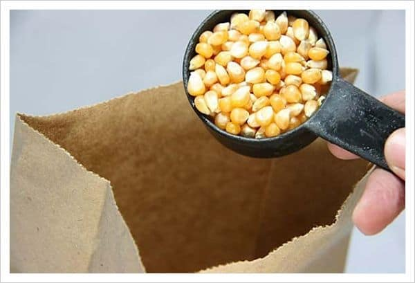 Cómo hacer palomitas de maíz en el microondas