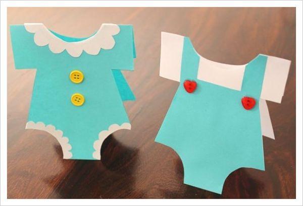 Ideas para tarjetas de baby shower