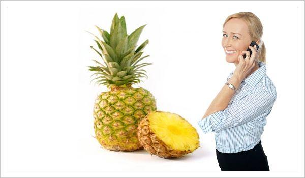 Beneficios un batido de piña para adelgazar y la salud