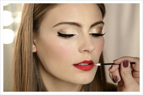 El mejor maquillaje para un vestido rojo ¡Tutorial!