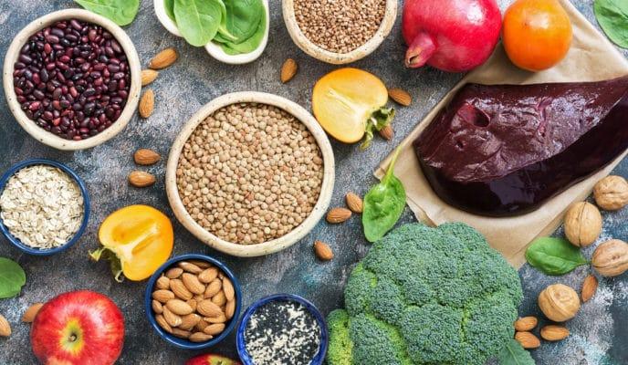 Hierro en tu dieta