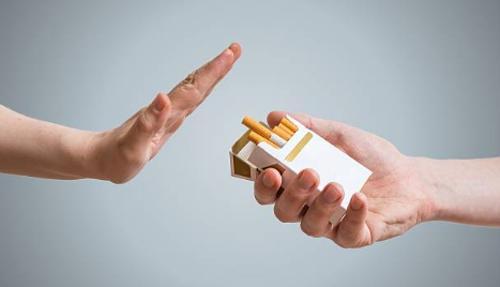 Efecto del cigarrillo en los pulmones