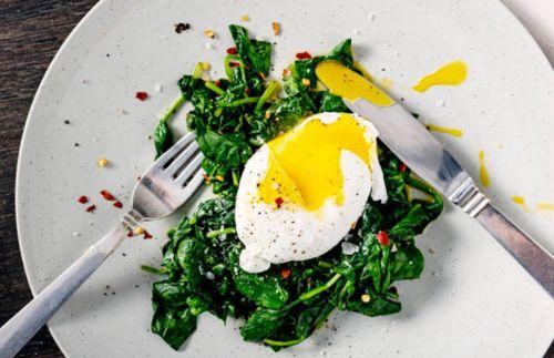 Huevos para bajar de peso