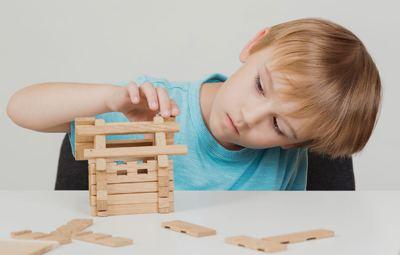 Juegos para niños Construcción de puentes