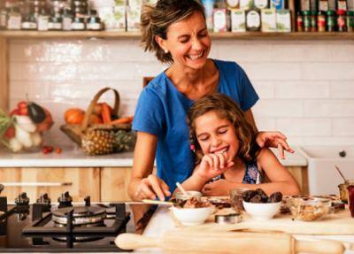 Llevar a tus hijos a la cocina